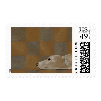 Greyhound Love Stamps