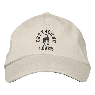 Greyhound Lover Embroidered Baseball Hat
