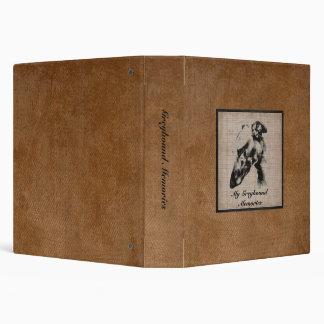 Greyhound Memories 3 Ring Binder
