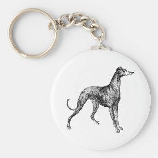 greyhound merchandise keychain