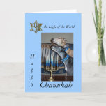 "Greyhound Messianic chanukah card<br><div class=""desc"">Greyhound Messianic chanukah card. Yeshua in the shape of David"