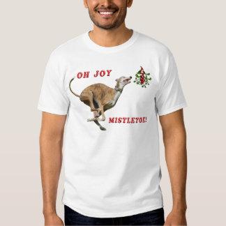 Greyhound & Mistletoe T-shirt