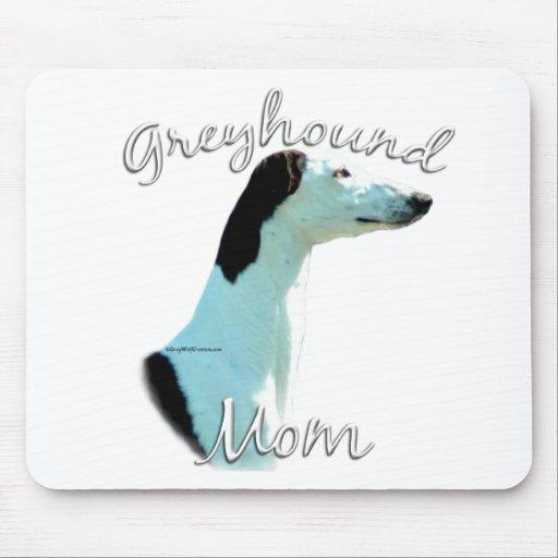 Greyhound Mom 2 Mouse Pad