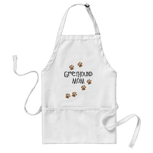 Greyhound Mom Adult Apron