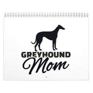 Greyhound Mom Calendar