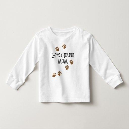 Greyhound Mom T Shirts