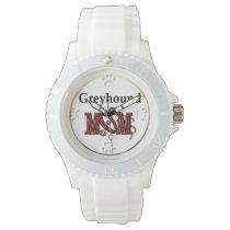 Greyhound Mom Wristwatch