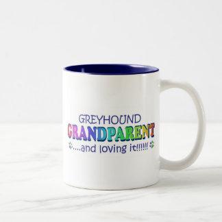 GREYHOUND Two-Tone COFFEE MUG
