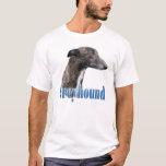 Greyhound Name T-Shirt