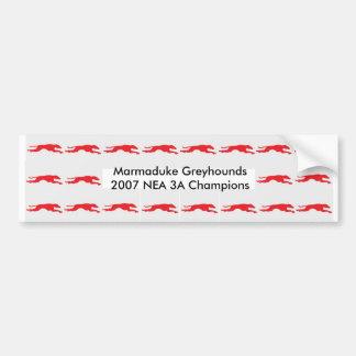 Greyhound NEA Bumper Sticker