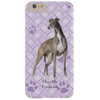 Greyhound on Lavender Weave 6/6s+ Barely There iPhone 6 Plus Case