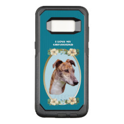 OtterBox Commuter Samsung Galaxy S8 Case with Greyhound Phone Cases design