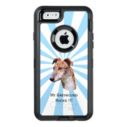 OtterBox Symmetry iPhone 6/6s Case with Greyhound Phone Cases design