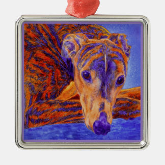 "Greyhound Ornament - ""Ace"""