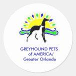 GREYHOUND PETS of AMERICA sticker