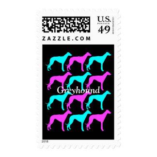 Greyhound Postage Stamps