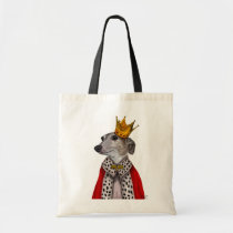 Greyhound Queen Tote Bag