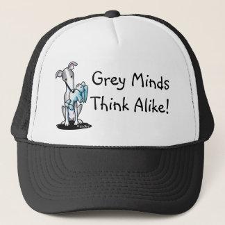 Greyhound Rabbit Lover Trucker Hat