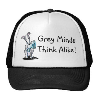 Greyhound Rabbit Lover Trucker Hat