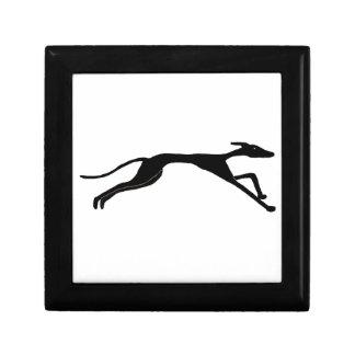 Greyhound Racing Art Gift Box