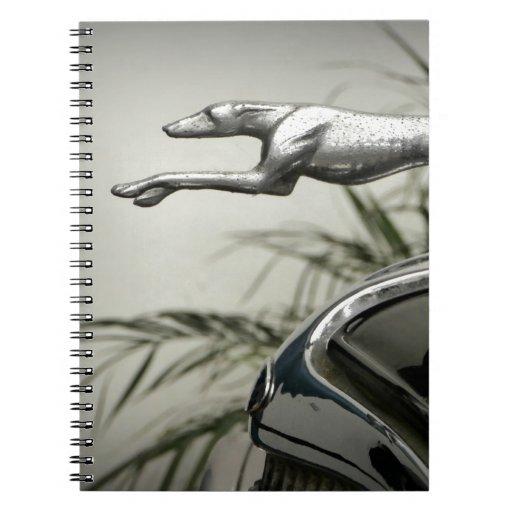 Greyhound Radiator Cap Journals