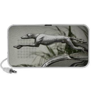 Greyhound Radiator Cap Notebook Speaker