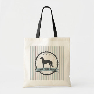 Greyhound Retired Racer 45 mph Lazy Dog Tote Bag