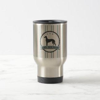 Greyhound Retired Racer 45 mph Lazy Dog Travel Mug
