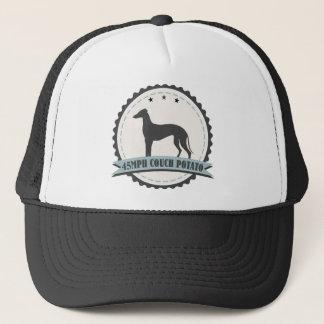 Greyhound Retired Racer 45 mph Lazy Racing Dog Trucker Hat