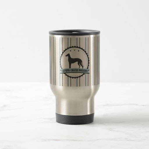 Greyhound Retired Racer 45mph Lazy Dog Coffee Mug