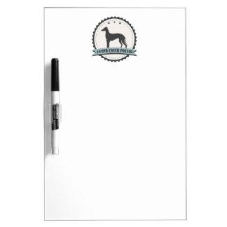 Greyhound Retired Racer 45mph Lazy Dog Dry-Erase Board
