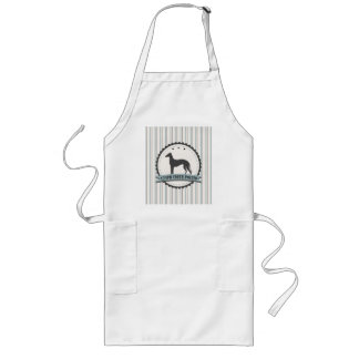 Greyhound Retired Racer 45mph Lazy Dog Long Apron