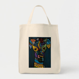 Greyhound - Retired Racing Rescue Tote Bag