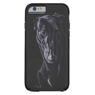 Greyhound Silhouette Dog Art Phone Case