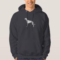 Greyhound Silhouette Hoodie