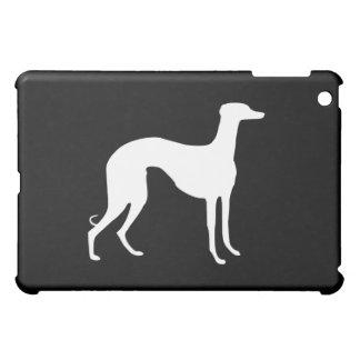 Greyhound Silhouette iPad Mini Cover