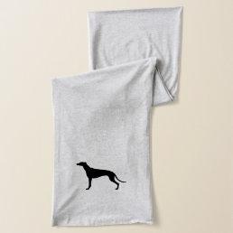 Greyhound Silhouette Scarf