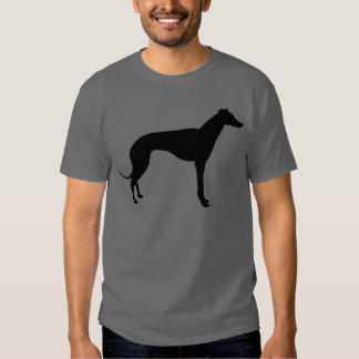 Greyhound Silhouette Tshirt