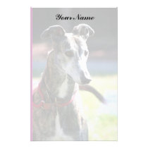 Greyhound stationary stationery