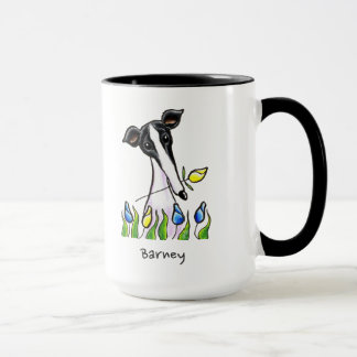 Greyhound Sweetheart Personalized Mug