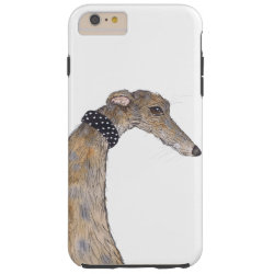 Case-Mate Barely There iPhone 6 Plus Case with Greyhound Phone Cases design