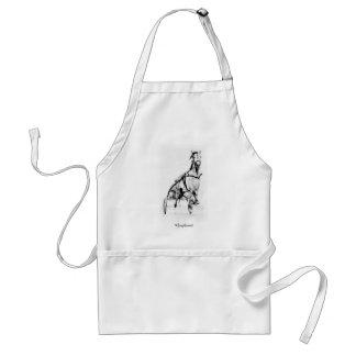 Greyhound Trotter Adult Apron