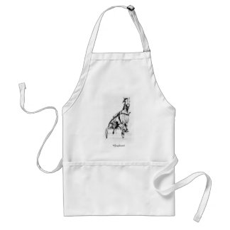 Greyhound Trotter Apron