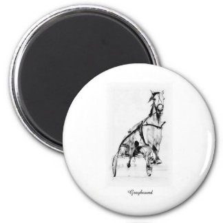 Greyhound Trotter Magnets