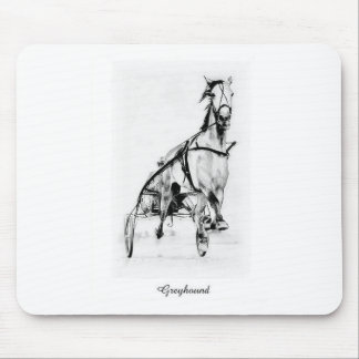 Greyhound Trotter Mouse Pad