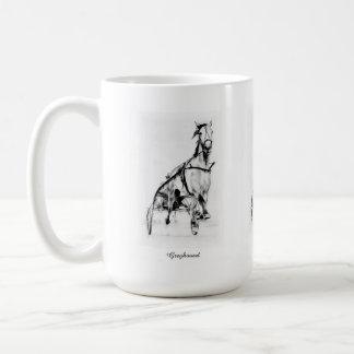 Greyhound Trotter Mug