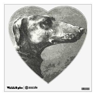 Greyhound Wall Sticker