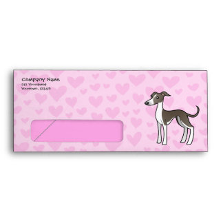 Greyhound Whippet Italian Greyhound Love Envelopes