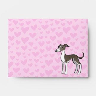 Greyhound Whippet Italian Greyhound Love Envelope