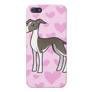 Greyhound / Whippet / Italian Greyhound Love iPhone SE/5/5s Cover